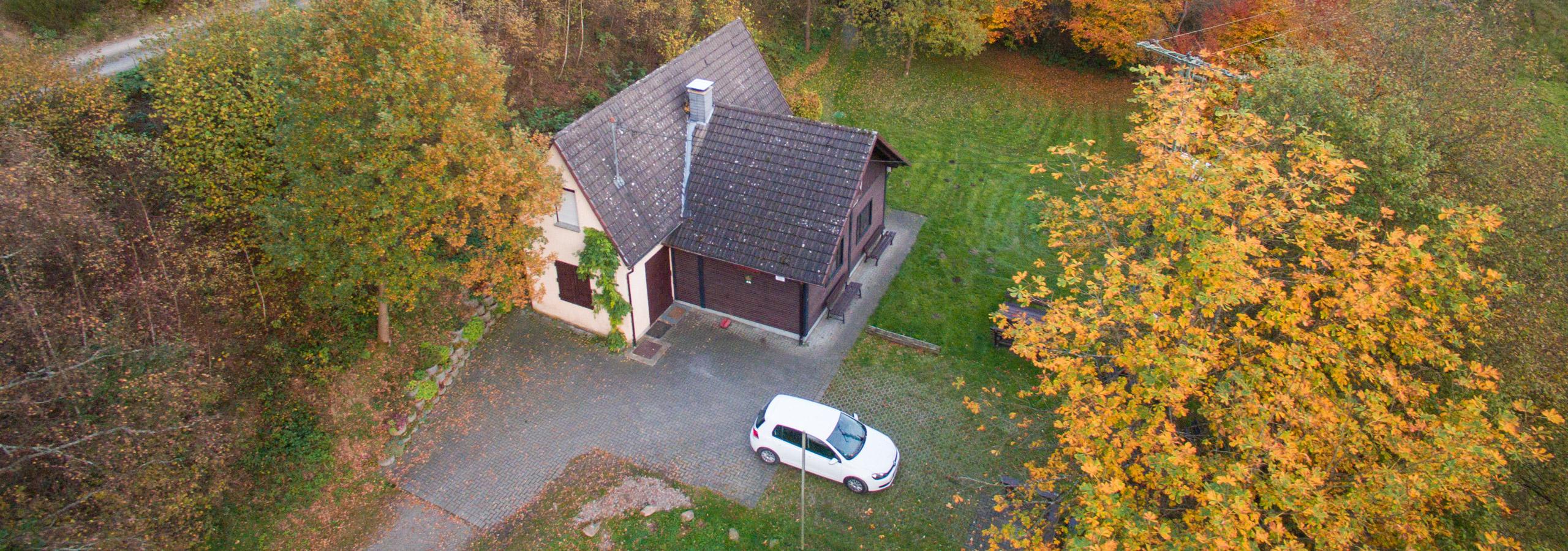 Die Wilhelm Münker Hütte im Insbachtal